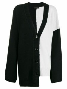 Lédition knitted front-button cardigan - Black