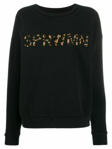 Sprwmn logo patch sweatshirt - Black