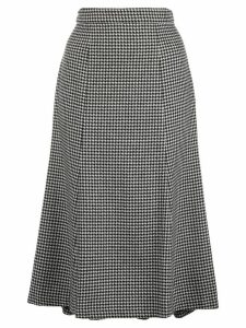 Polo Ralph Lauren houndstooth high-rise skirt - Black
