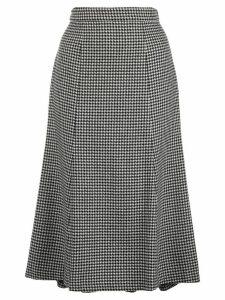 Polo Ralph Lauren houndstooth high-rise skirt - Black
