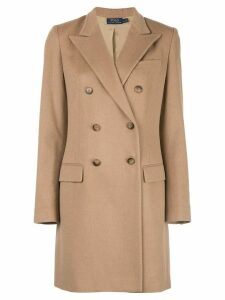 Polo Ralph Lauren mid-length double-breasted coat - Brown