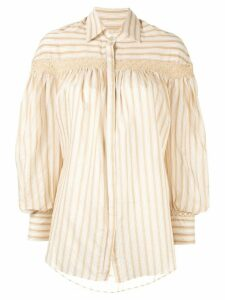 Arjé Amelia striped shirt - Yellow