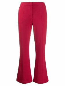 Semicouture low rise tailored trousers
