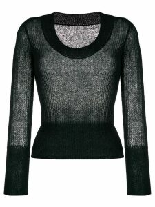 Jacquemus La Maille Dao knitted top - Black
