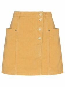 Jacquemus De Nimes mini skirt - NEUTRALS