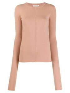Extreme Cashmere slim-fit knit jumper - PINK