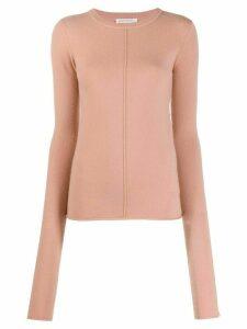 Extreme Cashmere slim-fit knit jumper - PINK
