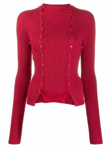 Jacquemus double-button jumper - Red