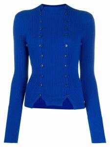 Jacquemus La Maille Azur cardigan - Blue