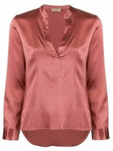Blanca Vita v-neck blouse - PINK