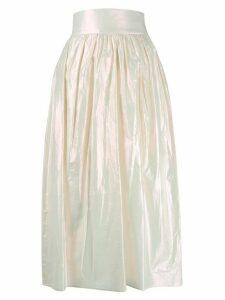 Christopher Kane iridescent skirt - NEUTRALS