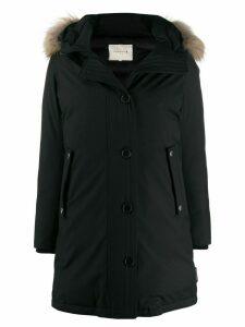 Mackintosh DORNOCH Black Wool Down Parka LD-1001