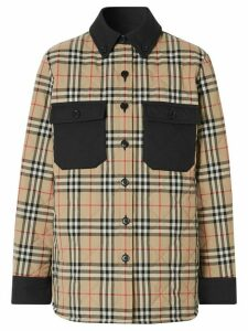 Burberry Vintage Check flannel overshirt - Neutrals
