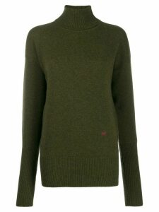 Victoria Beckham roll-neck jumper - Green