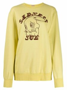 Undercover Sadness Sue print sweatshirt - Yellow