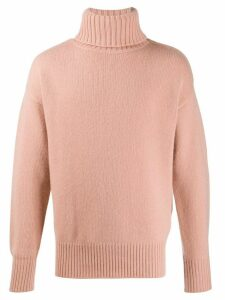 Extreme Cashmere roll-neck knit jumper - NEUTRALS