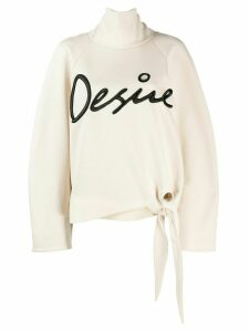 Christopher Kane Desire sweatshirt - NEUTRALS