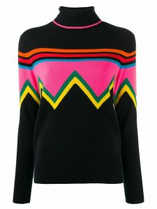 Chinti and Parker chevron stripe jumper - Blue