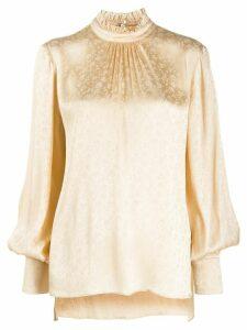 Vivetta floral pattern blouse - NEUTRALS