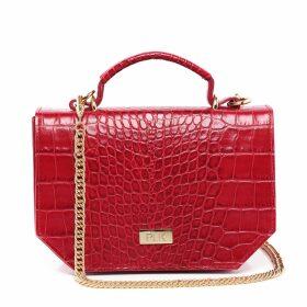 Riona Treacy - Silk Shibori Polo Neck Top