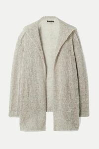 James Perse - Wool And Cashmere-blend Cardigan - Light gray