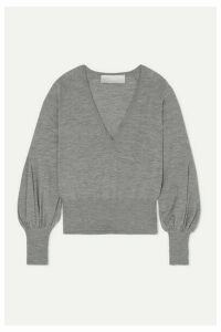 Antonio Berardi - Merino Wool Sweater - Light gray