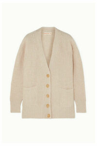 &Daughter - Kira Ribbed Wool Cardigan - Cream