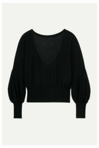 Antonio Berardi - Merino Wool Sweater - Black