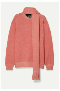 Runway Marc Jacobs - Mohair, Wool, Silk, Cashmere And Alpaca-blend Sweater - Pink