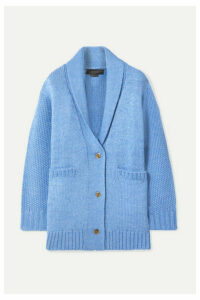 HATCH - The Blair Merino Wool-blend Cardigan - Azure