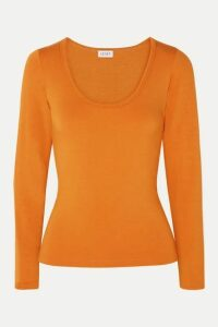 LESET - French Terry Top - Orange