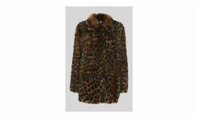 Animal Alba Shearling Coat