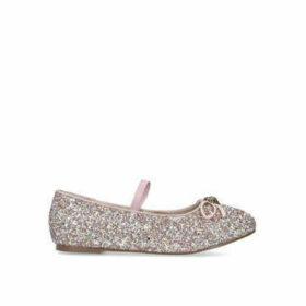 Kurt Geiger London Mini Esme - Pink Glitter Mary Jane Shoe Ages 8-13
