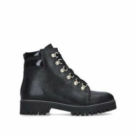 Carvela Stolen - Black Lace Up Hiker Boots