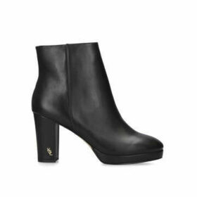 Kurt Geiger London Rome - Black Block Heel Ankle Boots