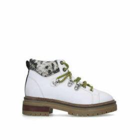 Kurt Geiger London Regency - White Hiker Boots