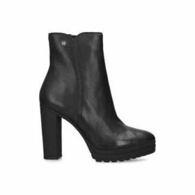 Dkny Tessi - Black Block Heeled Ankle Boot