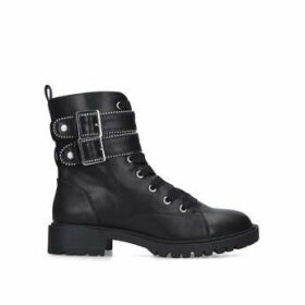 Miss KG Hippy - Black Embellished Biker Boots