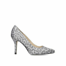 Nine West Flagship - Grey Leopard Print Court Shoe