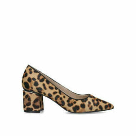 Aldo Friravia - Leopard Print Block Heel Court Shoes
