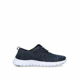 Nine West Stax - Navy Low Top Trainers