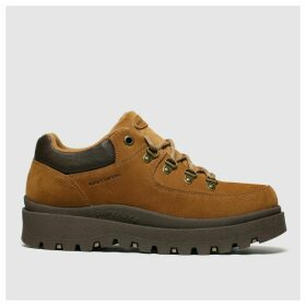 Skechers Tan Shindigs Stompin Trainers