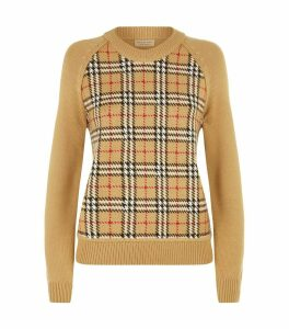 Wool House Check Sweater