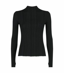 Long-Sleeved Karla Knit T-Shirt