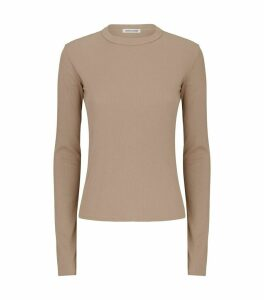 Verona Ribbed Long-Sleeved Top