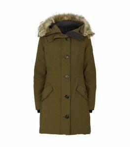 Rossclair Fur-Trim Parka