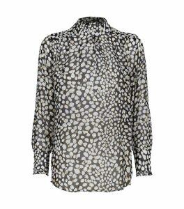 Victoria Leopard Print Top