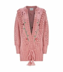 Gloria Embroidered Cardigan
