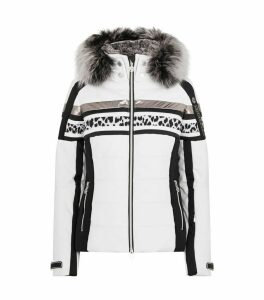 Panelled Padded Down Jacket