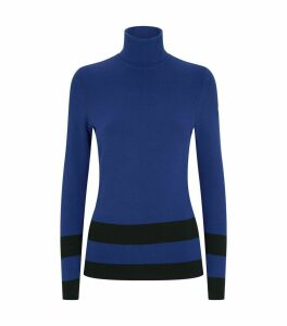 Stripe Rollneck Sweater